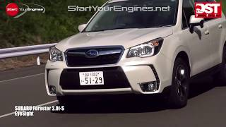 getlinkyoutube.com-【DST#Zero01-1】マツダCX-5 vs スバル・フォレスター vs 日産エクストレイル Part.1(ゼロ次安全評価)