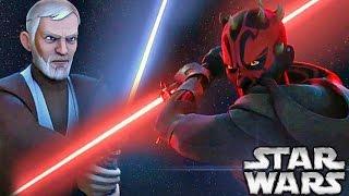 What If Maul Killed Obi-Wan on Tatooine - Star Wars Explained
