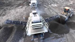 getlinkyoutube.com-Metso Lokotrack® LT220D™ mobile crushing & screening plant