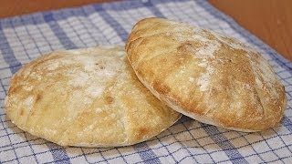 getlinkyoutube.com-Somuni lepinje recept / Flat Bread Recipe [Eng Subs]