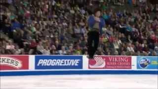 getlinkyoutube.com-さらっと観てみよう 町田樹2014スケートアメリカFS『交響曲第9番』