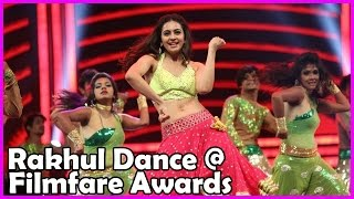 Rakul Preet Singh Extraordinary Dance Performance at Filmfare Awards 2016 South