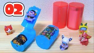 getlinkyoutube.com-【ガチャ】妖怪ウォッチ 妖怪メダルケースバスターズ02 Yo-kai Watch