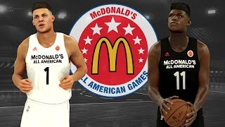 How To Set Up The 2017 McDonald's All American Game In NBA 2K17 (PS4)