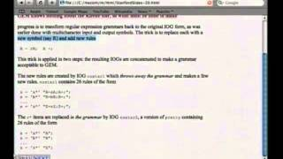getlinkyoutube.com-Executable Grammars: Seeking the minimal extensible self-compiling compiler