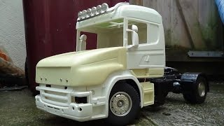 RC TRUCK TIPS - T CAB Update to Constructing a 1/14 Tamiya Rc Scale Scania Torpedo/T Cab