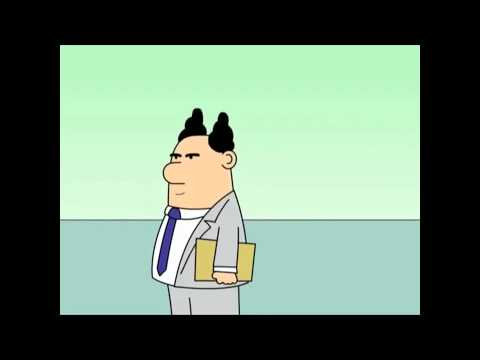 Dilbert Animated Cartoons - Career Day, Holding Up the Wall and Drive-by Management