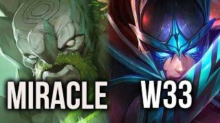 getlinkyoutube.com-Crazy 8k Miracle- Tiny vs w33 PA ft Waga Lion, !Attacker Zeus Dota 2
