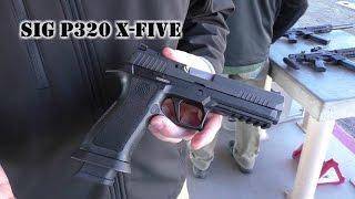 SIG P320 X-Series (SHOT Show 2017) X-Five