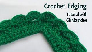getlinkyoutube.com-Crochet Wave Fan Edging - Tutorial | Girlybunches