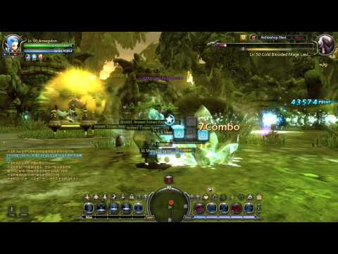 Dragon Nest CN Archbishop Nest (Normal) Sniper T4 Solo Gameplay