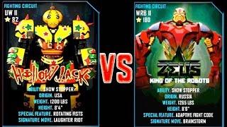 getlinkyoutube.com-REAL STEEL WRB FINAL Hollowjack VS ZEUS (CHAMPION) New Robots GOLD UPDATE (Живая сталь)