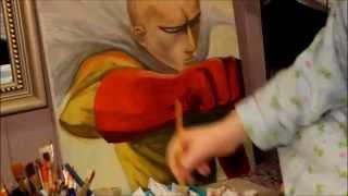 getlinkyoutube.com-Saitama (One Punch Man) Speed Paint