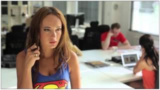 getlinkyoutube.com-Batgirl vs. Supergirl