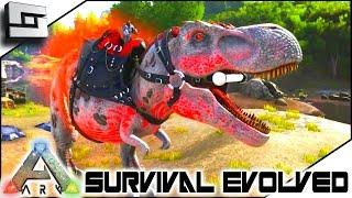 getlinkyoutube.com-ALPHA TREX TAMING! Modded ARK: Extinction Core E11 ( Ark Survival Evolved Gameplay )