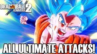 getlinkyoutube.com-Dragon Ball Xenoverse 2 - All Ultimate Attacks! (ENGLISH) 1080p60