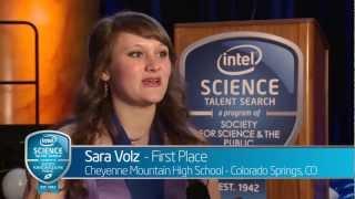 Sara Volz, Intel STS 2013
