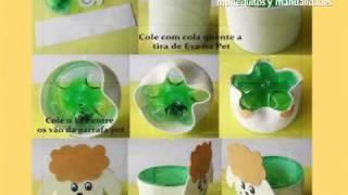 getlinkyoutube.com-1000 ideas creativas para reciclar botellas de plastico y manualidades