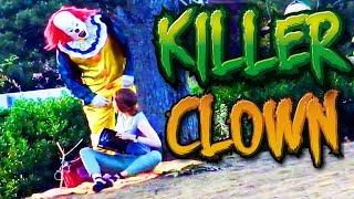 getlinkyoutube.com-Killer Clown Halloween Prank