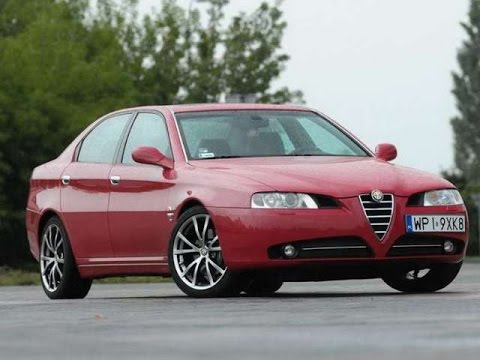 Прикол ржачный Тест Драйв Alfa Romeo 166