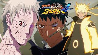 getlinkyoutube.com-Naruto Revolution (STORM 4 MOD) Naruto Ashura VS Obito