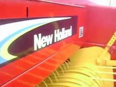 MOV00507 Empacadora New Holland 575 Alambre $10,000 Dlls.