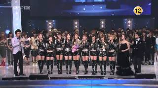 getlinkyoutube.com-【HD Live】少女時代SNSD - Oh! 2010 Song Of The Year (101230)