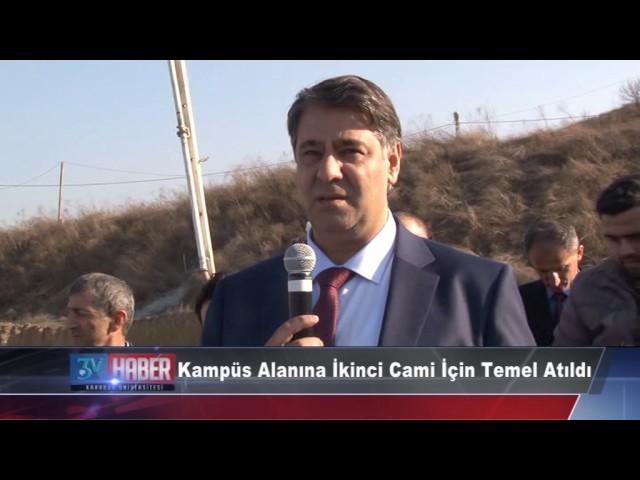 KBÜ Kampüs 2. Cami Temel Atma Töreni