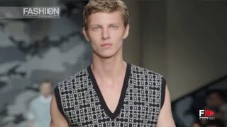 getlinkyoutube.com-NEIL BARRETT Menswear Spring Summer 2016 Milan by Fashion Channel