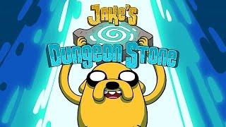 getlinkyoutube.com-Adventure Time - JAKE'S DUNGEON STONE (Cartoon Network Games)