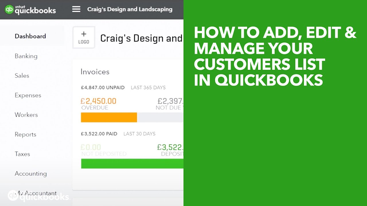 getting started with quickbooks online | intuit uk