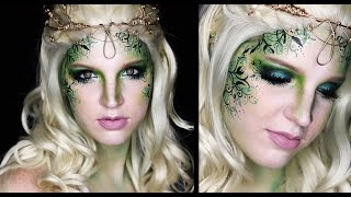 getlinkyoutube.com-Forest Fairy Makeup Tutorial