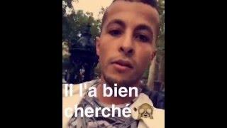 Hayce Lemsi apparait la main en sang sur Snapchat