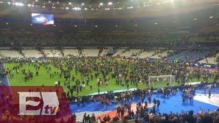 getlinkyoutube.com-Ataque terrorista en París: Momento justo del estallido durante partido Francia vs Alemania