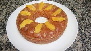getlinkyoutube.com-كيكة خفيفة لذيذة بالبرتقال meilleure recette gateau orange