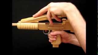 getlinkyoutube.com-[rubber band gun] MagArm-1 submachine gun