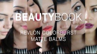 getlinkyoutube.com-BeautyBook | Revlon ColorBurst Matte Balms | Kaushal Beauty