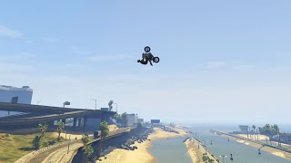 getlinkyoutube.com-WORLDS FIRST GTA 5 PC STUNTS (GTA 5 HIT A STUNT #42)