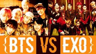 getlinkyoutube.com-EXO VS BTS