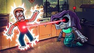 getlinkyoutube.com-Minecraft | Who's Your Daddy? Robo Mom TURNS EVIL! (Secret Robot Wife)