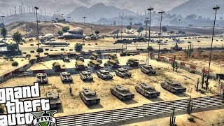 getlinkyoutube.com-Military Dust Base - GTA 5 PC MOD