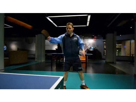 Table Tennis Strokes: Backhand Loop