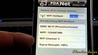 getlinkyoutube.com-Comment se connecter en Wifi sans Wifi avec son iPod, iPhone ou iPad