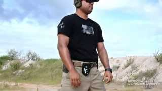 getlinkyoutube.com-Bravo Concealment Kydex gun holster at the range with competitive shooter