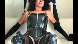 getlinkyoutube.com-Sexy MILF's in PVC outfit and black boots