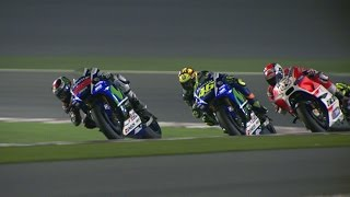getlinkyoutube.com-MotoGP™ Qatar 2015 -- Best Action