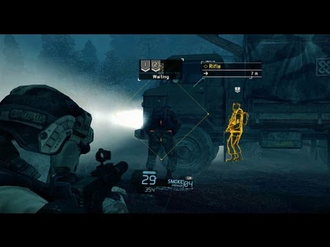 Ghost Recon Future Soldier: Raven Strike DLC Gameplay Walkthrough -- Operation Secure Dawn