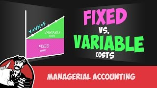 Fixed and Variable Costs (Cost Accounting Tutorial #3) width=