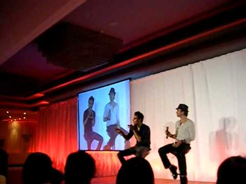 Bloody Night Con 2 Barcelona Ian Somerhalder and Paul Wesley 3
