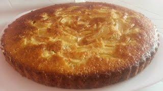 كيكة التفاح الاقتصادية / كيكة اقتصادية بالتفاح هشيشة وبنينة cake aux pommes